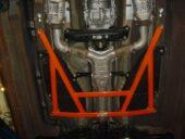 Renfort de chassis centrale SUMMIT 350z